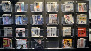 Newspapers, lehdet, sanomalehti