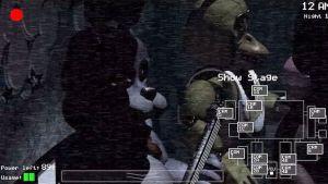 Kuvakaappaus pelistä Five Nights at Freddy's