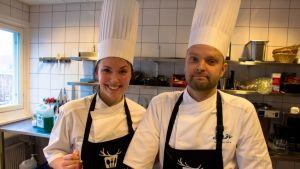 Jarno Seppä ja Laura Virolainen,