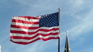 liehuva USA:n lippu