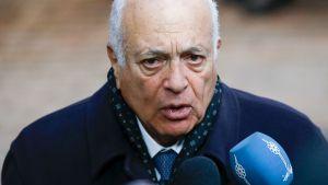 Arabiliiton puheenjohtaja Nabil Elaraby