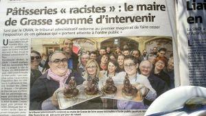Kuva Nice-Matin lehden sivusta.