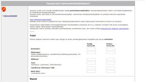 Toimeentulotukilaskuri Tampereen kaupungin nettisivuilla