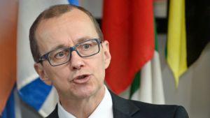 IAEA:n apulaispääjohtaja Tero Varjoranta