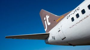 Jet Time lentokone.