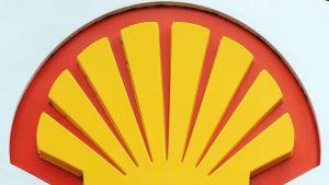 Shellin logo Lontoossa.