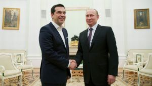Alexis Tsipras ja Vladimir Putin