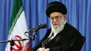 Iranin korkein johtaja ajatollah Ali Khamenei