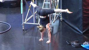 Sirkuskoulutusta Koulutuskeskus Salpaus