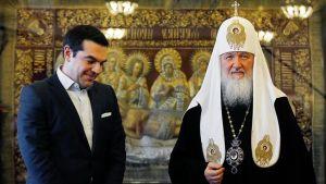 Alexis Tsipras ja arkkipiispa Kirill tapasivat Moskovassa