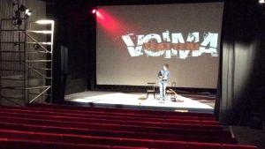 Voimateatteri toimii entisissä Kino Kouvon tiloissa
