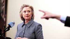 Hillary Clinton kuvattuna maaliskuussa New Yorkissa.
