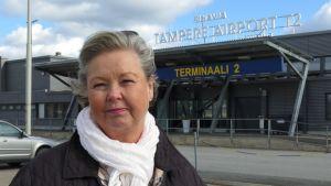 matkailujohtaja Pirjo Puukka.