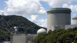 Takahaman ydinvoimala Fukuin maakunnassa, Japanissa.