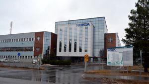 Nokian Oulun-tehdas Ruskossa.