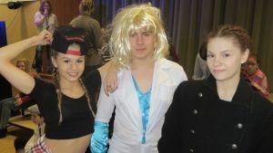 Salla, Lauri ja Laura