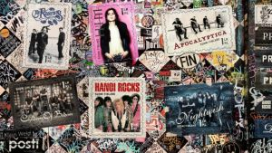 Uusia musiikkiaiheisia postimerkkejä.