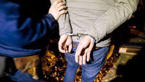 Unkarin poliisi pidätti maahan pyrkivän miehen Unkarin ja Serbian rajalla 9. tammikuuta.