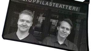Mikko Gustafsson ja Otto Kylmälä klaffissa.