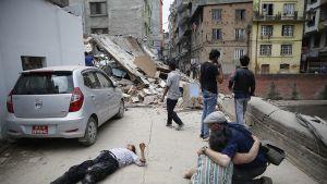 Nepalin maanjäristys.