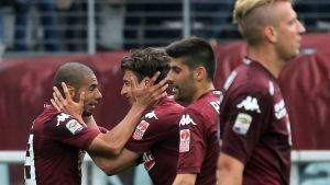 Torino juhlii maalia Juventusta vastaan.