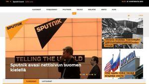 Venäjän valtiollinen uutistoimisto aloitti suomenkielisten uutisten julkaisemisen.