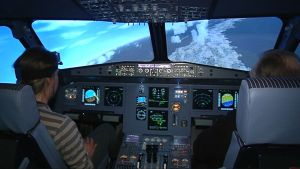 Matkustajakoneen lentosimulaattori