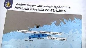 Kartta sukellusvenejahdista