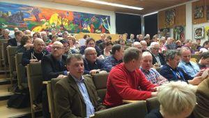 MTK Pohjois-Suomi kevätkokous 2015 Limingan kansanopistolla