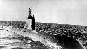 Venäläinen ydinsukellusvene K-159.
