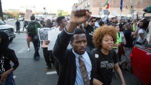 Mielenosoitus Baltimoressa.