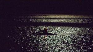 Sukellusvene vedessä.