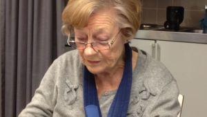 Suomen Kansallisbaletin entinen johtaja ja professori Doris Laine.