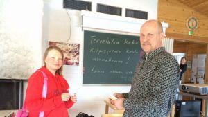 Iida-Sofie Karlsen ja Timo Tuominen