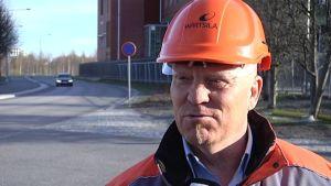 Wärtsilä Finland Oy pääluottamusmies Matti Latvakoski
