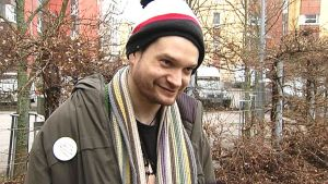 Dimitri Baltzar asuu Tilkan ryhmäkodissa Pikku Hupalahdessa.