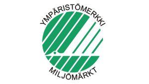 Pohjoismainen ympäristömerkki eli Joutsenmerkki.
