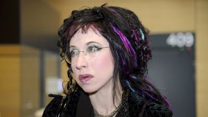Kirjailija Sofi Oksanen.