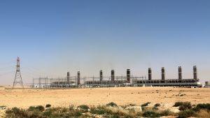 Wärtsilän osarahoittama ja -rakentama IPP3-voimalaitos Ammanin itäpuolella Jordaniassa 29. huhtikuuta 2015.