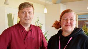 Tommi Kerkelä ja Sari Kunnas.