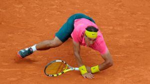 Rafael Nadalin ainoa tappio Ranskan avoimessa tennisturnauksessa tuli vuonna 2009.
