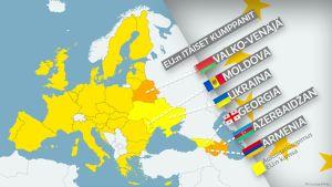 EU:n itäiset kumppanit