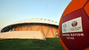 Qatar jalkapallo.