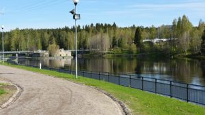 Kajaaninjoki ja Kajaanin linnanrauniot