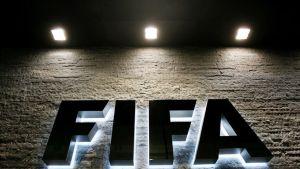 FIFA-teksti talon seinässä