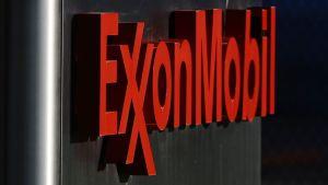 Öljy-yhtiö Exxon Mobilin toimisto Dallasissa.