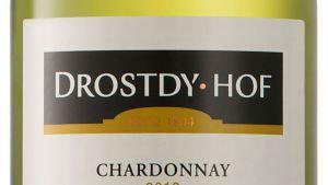 Drostdy Hof Chardonnay -viinin etiketti.