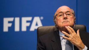 Sepp Blatter Fifan puheenjohtaja