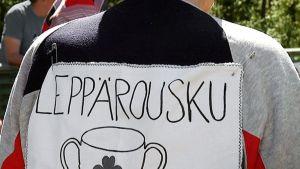 Vanhainkoti Leppärouskun kesäolympialaiset 2015.