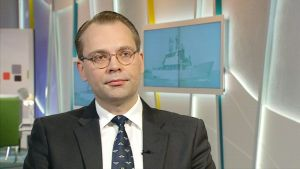 Puolustusministeri Jussi Niinistö